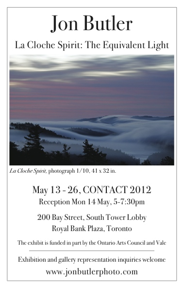'La Cloche Spirit: The Equivalent Light' - CONTACT 2012 - Toronto