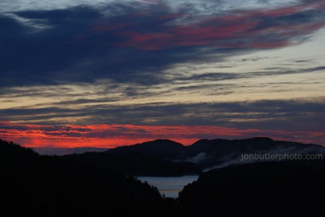 Sunrise from Willisville Mountain September 9, 2012