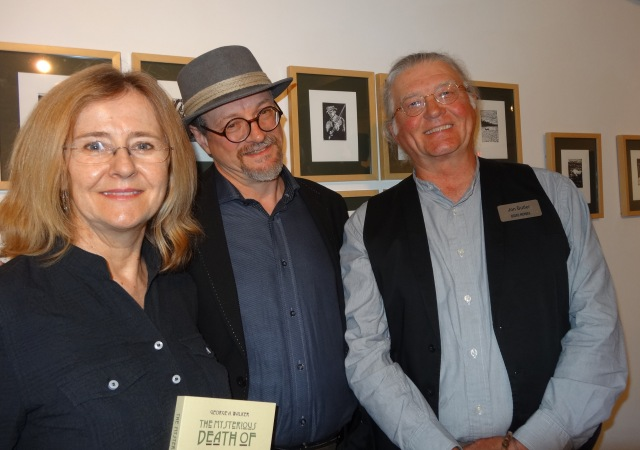 Kerry Butler, George Walker & Jon Butler at the Art Gallery of Sudbury.