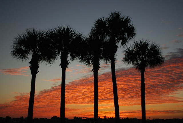 Sunrise Pass-a-Grile Florida on Saturday, Dec 20. Natural light, natural colours, natural beauty – naturally!