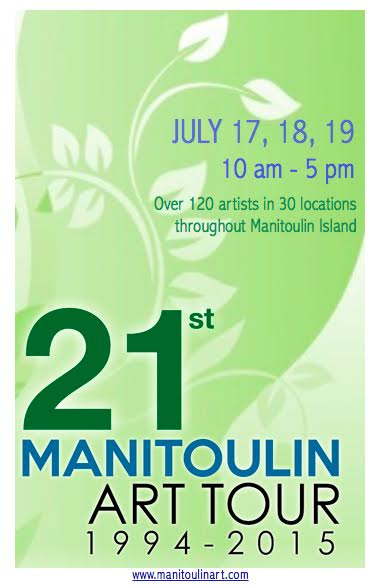2015 Manitoulin Art Tour