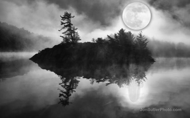 Reflection watermark