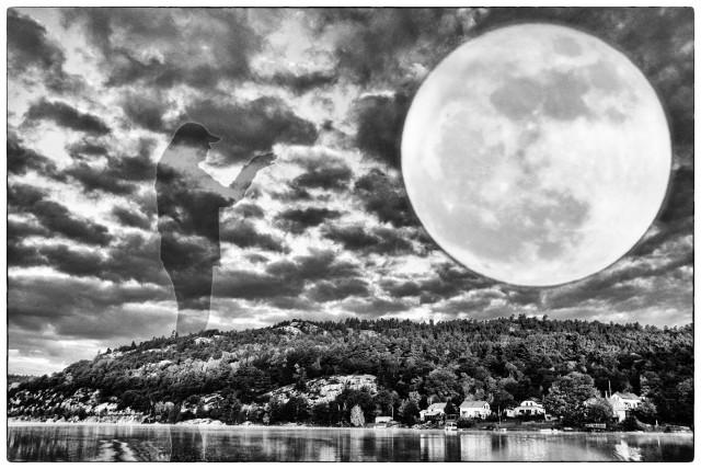 Full Moon Over Willisville